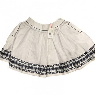 See by Chloe White Linen Skirt for Women