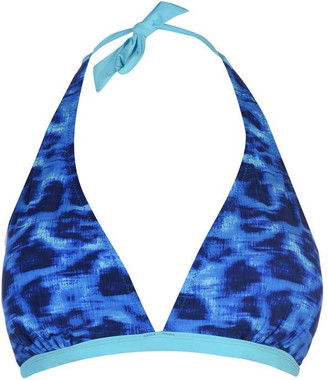 Slazenger Halter Neck Bikini Top Ladies
