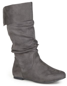 Journee Collection Women's Wide Calf Shelley-3 Boot Women's Shoes