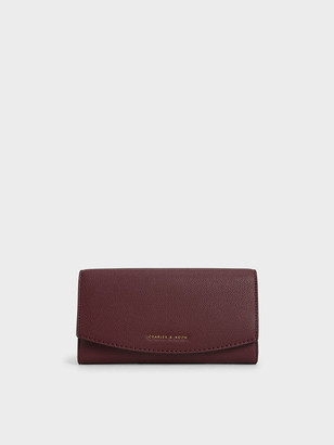 Charles & Keith Curved Front Flap Wallet