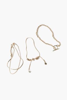 Forever 21 Upcycled Bracelet Set