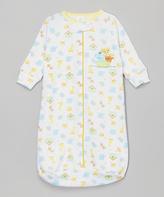 SpaSilk Yellow Ark Sleeping Sack - Infant