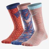 Nike Graphic Lightweight Crew Kids' Socks (3 Pair)