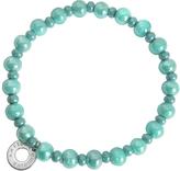 Antica Murrina Veneziana Perleadi Turquoise Murano Glass Beads Bracelet