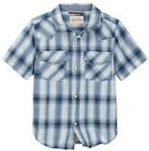 Lucky Brand Western Plaid Shirt (Big Boys)