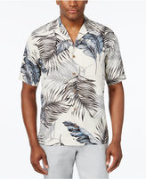 Tasso Elba Men's Print Classic-Fit Silk Shirt, Only at Macy's