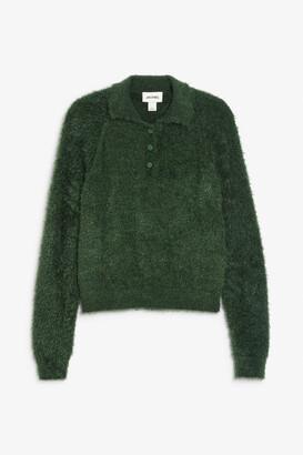 Monki Fluffy knit sweater