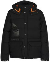 Junya Watanabe Comme Des Garçons Man Logo Print Puffer Jacket