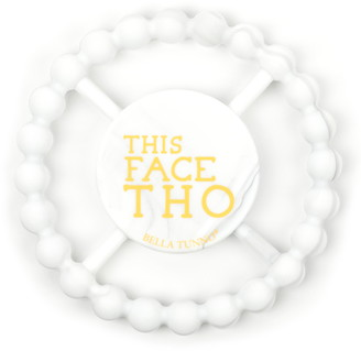 Bella Tunno This Face Tho Silicone Teether