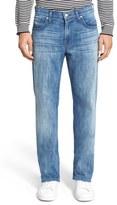 7 For All Mankind 'Austyn' Relaxed Straight Leg Jeans (Nakkitta Blue)