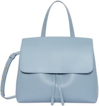 Mansur Gavriel Calf Mini Lady Bag - Grey Blue
