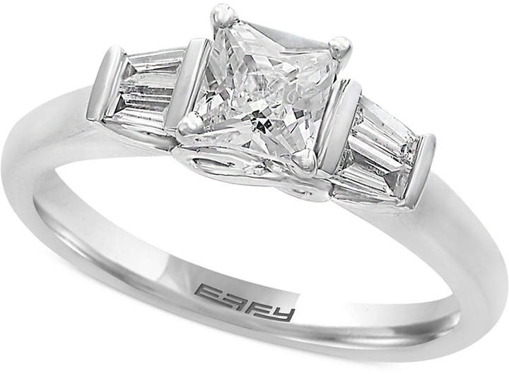 Effy Infinite Love Diamond Engagement Ring (5/8 ct. t.w.) in 18k White Gold