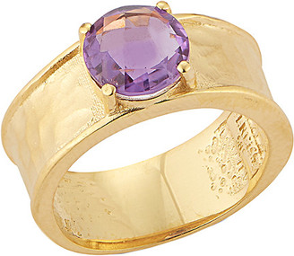 Reiss I. 14K 1.50 Ct. Tw. Amethyst Color Stone Ring