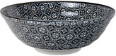 Design Studio Tokyo Nippon Black Serving Bowl - Flower