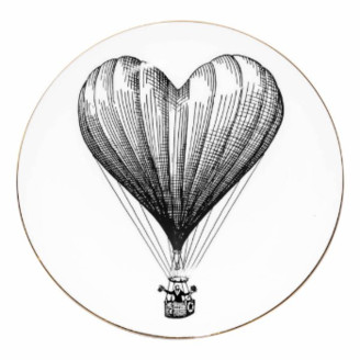 Rory Dobner - Small Heart Balloon Perfect Plate - small