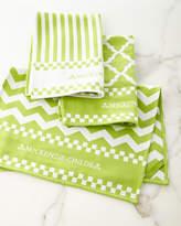 Mackenzie Childs MacKenzie-Childs Key Lime Dish Towels, Set of 3