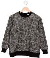 Dolce & Gabbana Girls' Oversize Knit Sweater