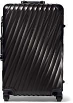 Tumi Short Trip Aluminum Suitcase - Black