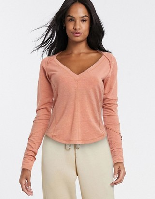 Free People Movement Affinity long sleeved raglan top