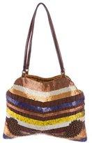 Jamin Puech Sequin-Embellished Shoulder Bag