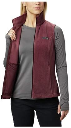 Columbia Benton Springstm Vest (Cirrus Grey Heather/Grill) Women's Vest