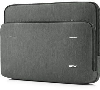 "Cocoon Carrying Case (Sleeve) for 15"" MacBook Pro (Retina Display) - Graphite - Water Resistant - Wood Zipper, Ballistic Nylon Zipper"