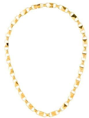 Michael Kors Mercer Link Chain Necklace yellow Mercer Link Chain Necklace