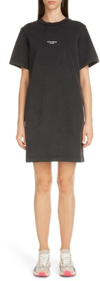 Acne Studios Elleni Stamp T-Shirt Dress