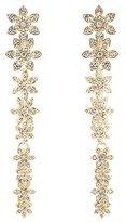 Charlotte Russe Embellished Floral Drop Earrings