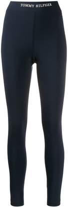 Tommy Hilfiger logo print leggings