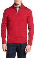 Tailorbyrd Men's Gannet Quarter Zip Wool Sweater