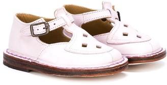 Pépé cut detail T-bar sandals