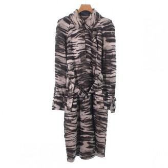 Lanvin Beige Silk Trench Coat for Women