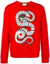 Gucci kingsnake print sweatshirt