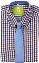 Future Trillionaire Budding Prodigy Shirt & Tie (Toddler, Little Boys, & Big Boys)