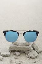 Forever 21 FOREVER 21+ Men Browline Round Sunglasses