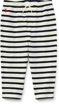 Ralph Lauren Striped Atlantic Terry Pant