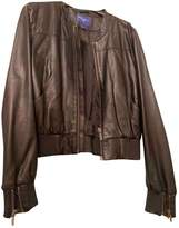 Jimmy Choo For H&M For H&m Black Leather Jacket for Women