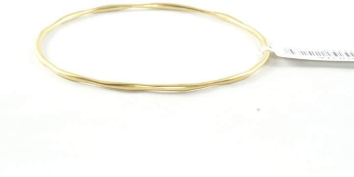 Ippolita 18K Yellow Gold Matte Bangle Bracelet