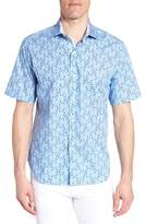 Tailorbyrd Alaric Regular Fit Print Sport Shirt