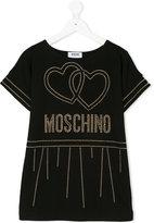 Moschino stud embellished logo T-shirt
