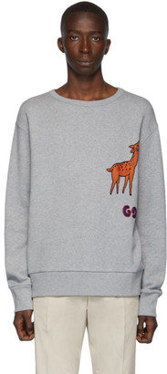 Gucci Grey Mr. Peanut Sweatshirt