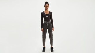 Levi's Exposed Button Mom Women's Jeans