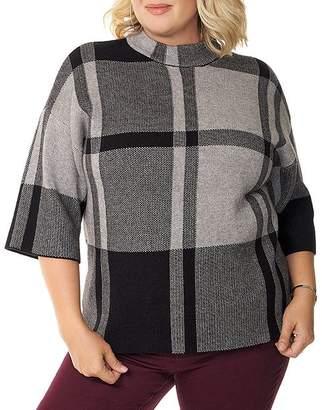 Belldini Plus Plaid Sweater