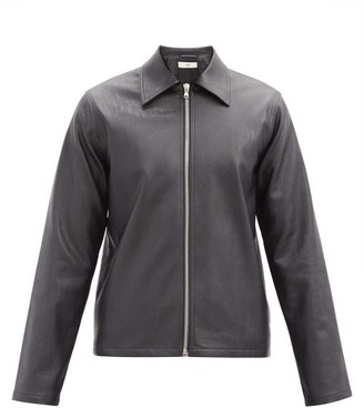 Séfr Truth Faux-leather Jacket - Black