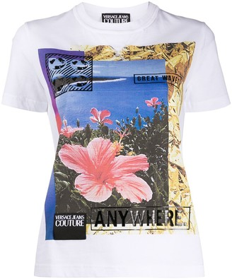 Versace Jeans Couture graphic print T-shirt