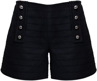 Rumour London ELLE Wool & Cashmere Shorts