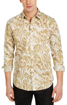 INC International Concepts Inc Men's Abstract Print Shirt, Created for Macy's