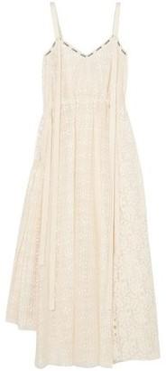 Loewe Cotton-blend Lace Midi Dress