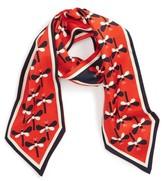 Tory Burch Women's Dragonfly Silk Necktie